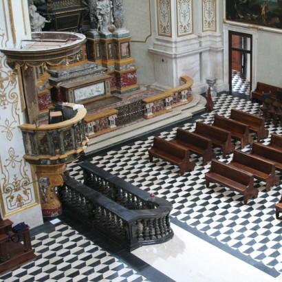 Pavimento interno Chiesa