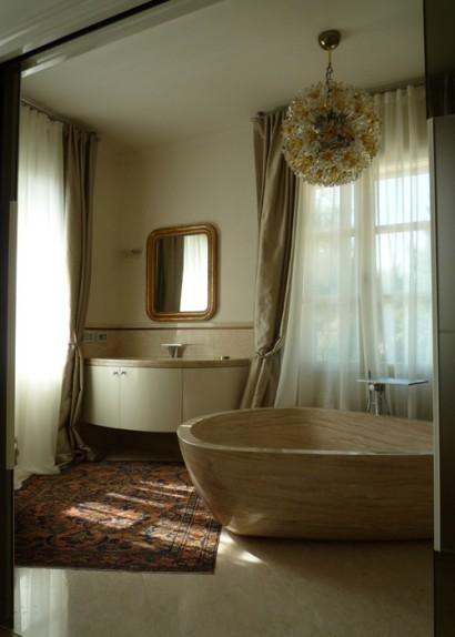 Vasca da bagno in Breccia Sarda